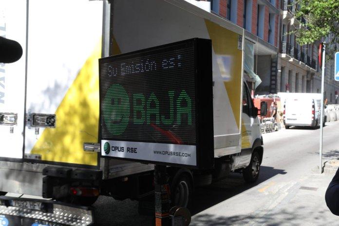 Una telecabina detectará vehículos contaminantes en el distrito Centro 1
