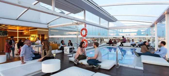 Top 10 de las terrazas con piscina en Madrid 9