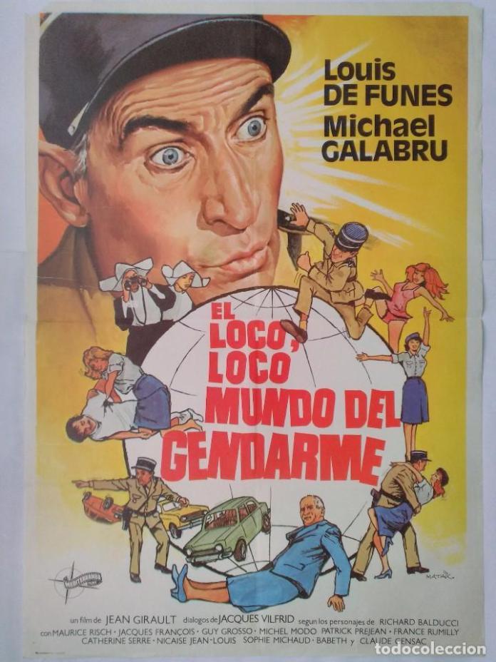 Julio y agosto de humor con 'El Gendarme' en 8madridTV 5