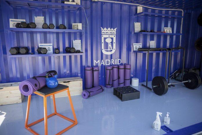 Cubo Gym Madrid: el gimnasio portátil de los parques madrileños 2