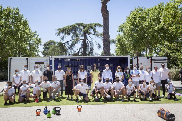 Cubo Gym Madrid: el gimnasio portátil de los parques madrileños 1