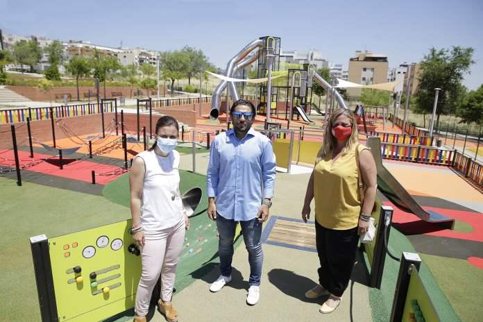 Nuevos parques inclusivos en San Sebastián de los Reyes 1