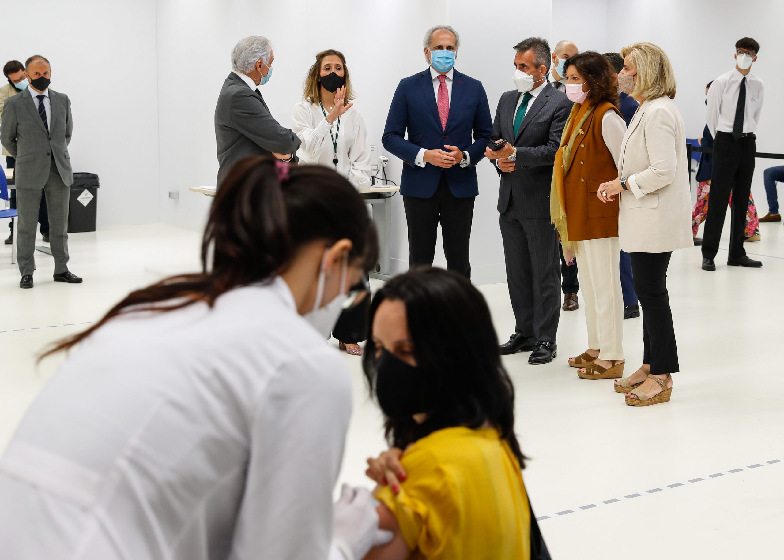 La Comunidad de Madrid vacunará a mayores de 16 años la próxima semana 2