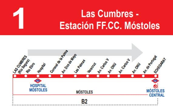 Móstoles modifica la ruta de sus autobuses por el nuevo Plan de Asfaltado 3