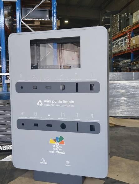 21 mini-puntos limpios en Alcorcón para acercar el reciclaje a los barrios 1