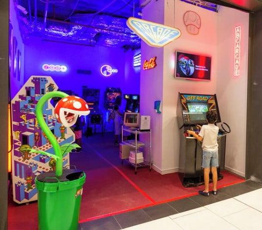 ABC Arcade, la exposición de videojuegos de los 80 2