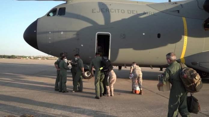 Evacuados afganos llegan a la base de Torrejón: Campamentos y protocolo Covid-19 3