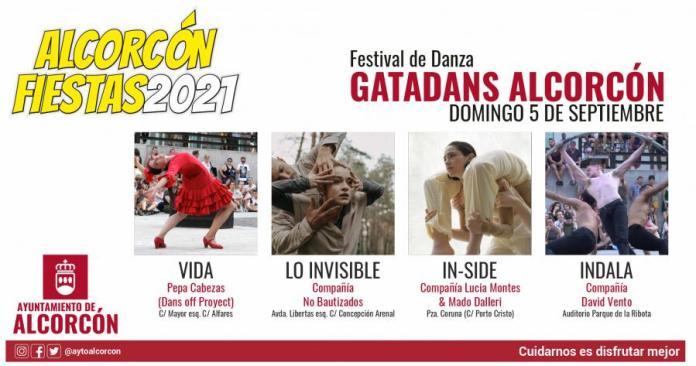 El festival de danza GATADANS llega a Alcorcón el 5 de septiembre 1