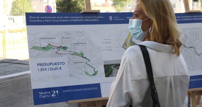 Empiezan las obras para conectar peatonalmente los miradores de Puente de Vallecas 2