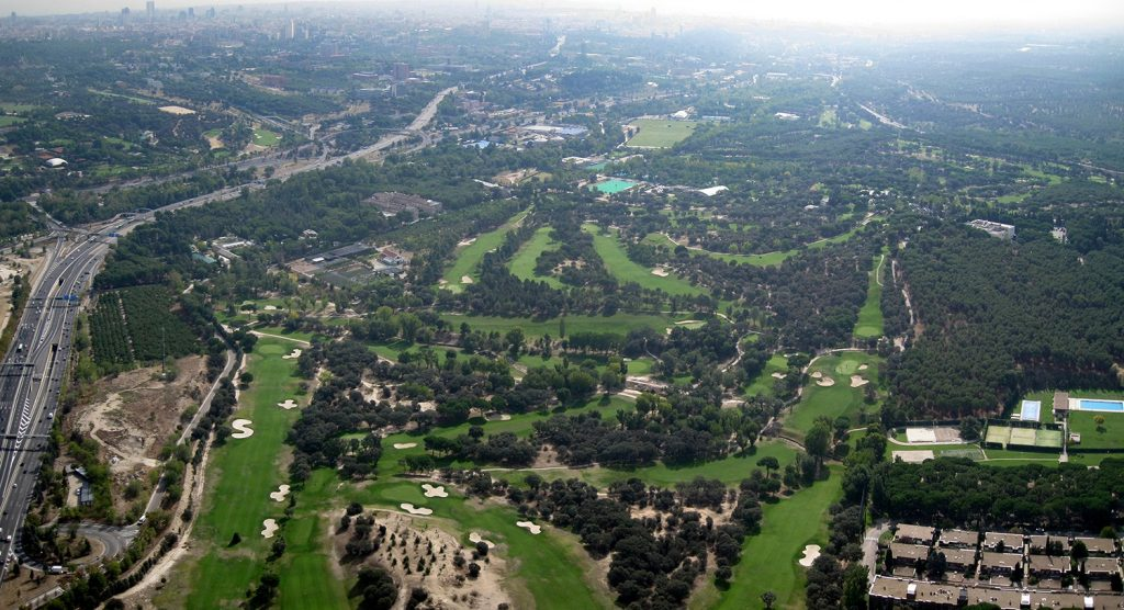 Cinco campos de golf en Madrid para emular a Cabrera 1