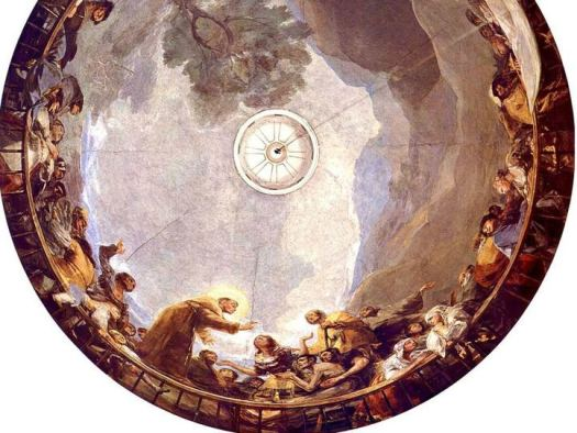 Goya pinta la 'Capilla Sixtina' madrileña