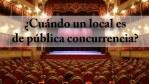 Local de pública concurrencia