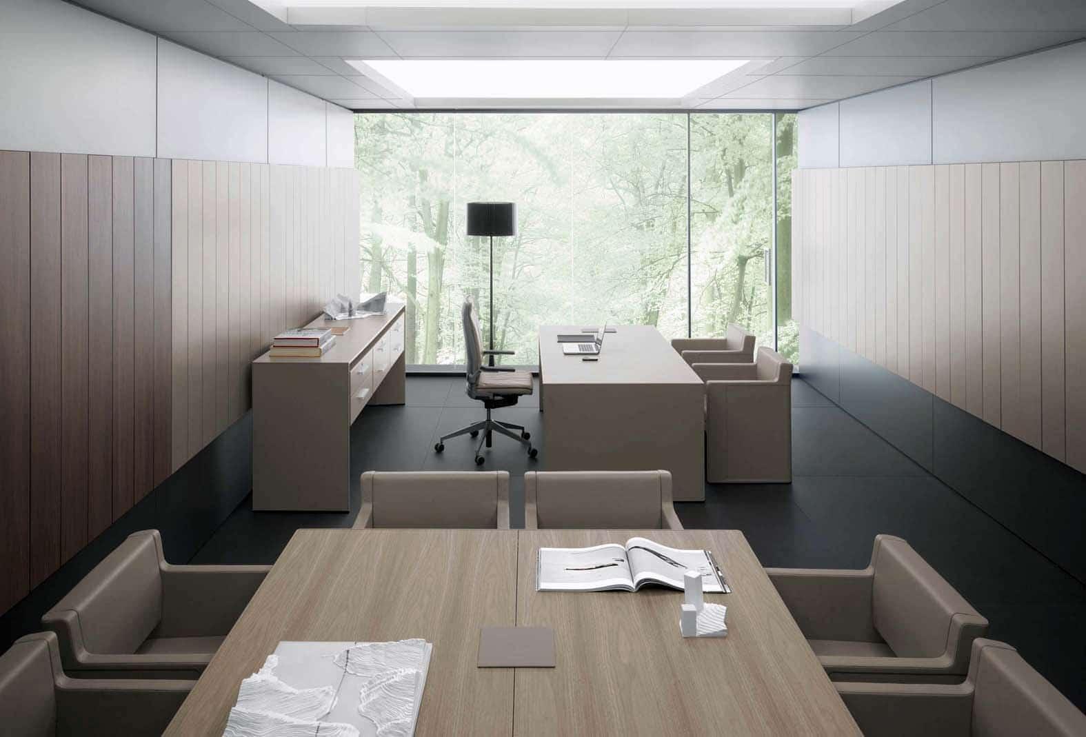 Servicios de interiorismo para oficinas