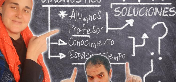 ¿Por qué el SISTEMA EDUCATIVO NO FUNCIONA? [Y las SOLUCIONES] De una PROFESORA 🍏 y un PSICÓLOGO 🤷