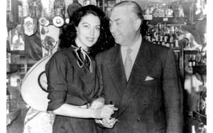 Ava Gardner y Pedro Chicote
