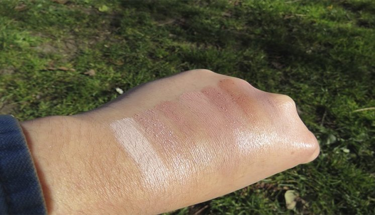 naked 3 urban decay sombras eyeshadows swatches naked naked heat 2