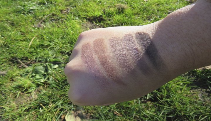 naked 3 urban decay sombras eyeshadows swatches naked naked heat