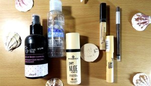 productos terminados PS Primark Yves rocher essence pure nude bourjois fit me maybelline lights of orient