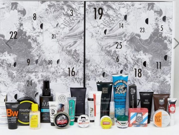 calendario de adviento grooming calendar asos 2017 madridvenek