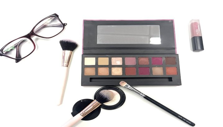 delicious w7 modern renaissance abh look makeup colores 10