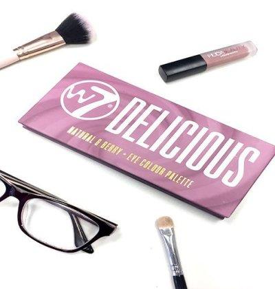 delicious w7 modern renaissance abh look makeup colores 20