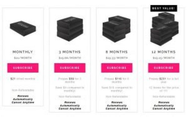 boxycharm como comprar desde españa en español my mall box beauty box precios
