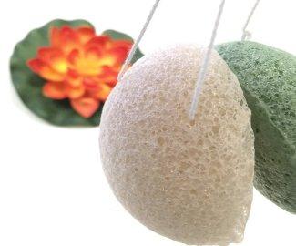 esponja konjac limpieza facial beauty challenge esponja konjac blanca esponja konjac verde 5