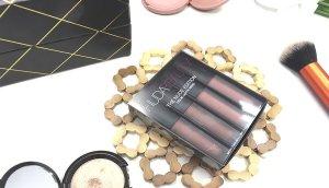huda beauty lipstick labiales review opiniones bombshell flirt trendsetter venus labial liquido swatches nude 7