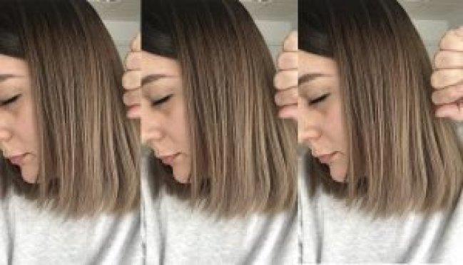 pelo quemado decoloracion decolorar cabello quemaron mi pelo en la peluqueria mechas californianas balayage mechas californianas en pelo castaño decoloracion cabello oscuro 4