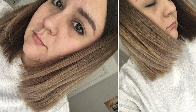 pelo quemado decoloracion decolorar cabello quemaron mi pelo en la peluqueria mechas californianas balayage mechas californianas en pelo castaño decoloracion cabello oscuro 5