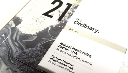 Asos calendario de adviento 2017 the ordinary natural moisturizing factors