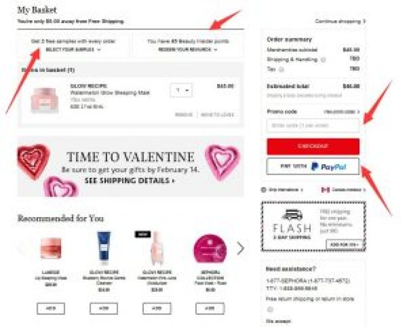 Beauty Insider sephora usa como comprar en sephora estados unidos desde españa mymall box carrito 2