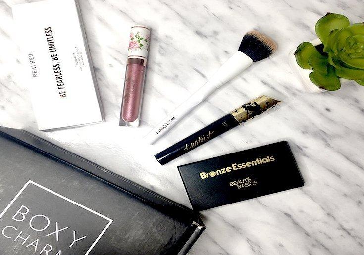 realher blush pretty vulgar crown brushes tarteist lash mascara tarte bronze essentials beaute basics boxycharm diciembre 2017