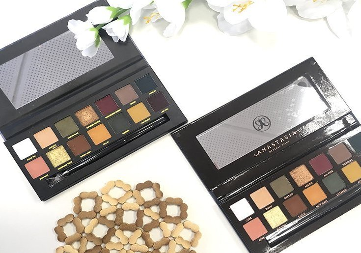 anastasia beverly hills subculture palette clon on the rocks w7 10