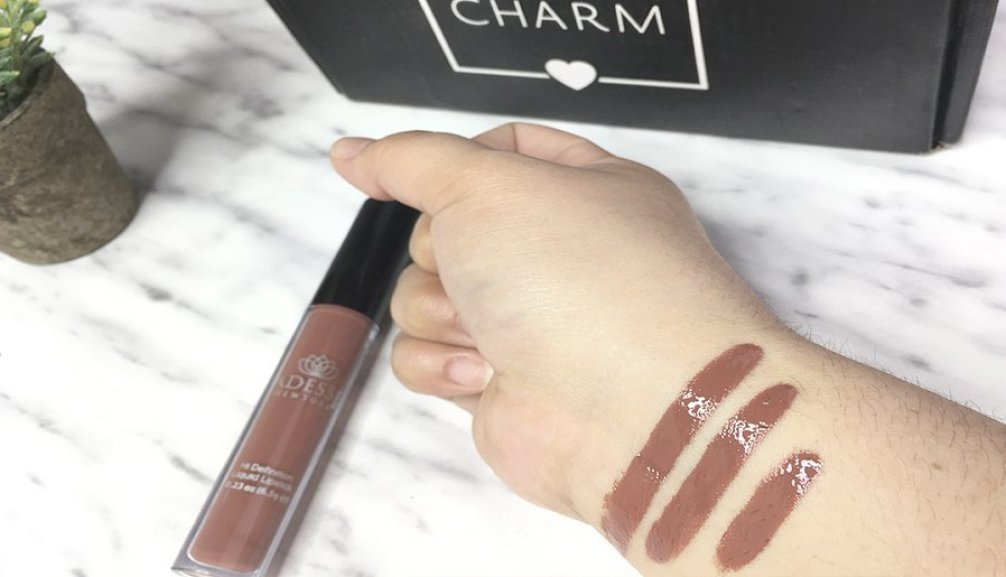 boxycharm abril 2018 adesse lipgloss labial gloss