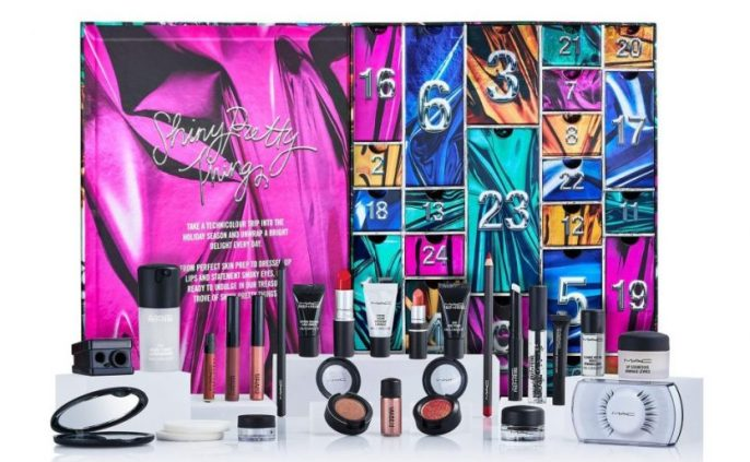 calendario de adviento MAC 2018 advent calendar beauty calendario adviento 2018 spoilers MAC