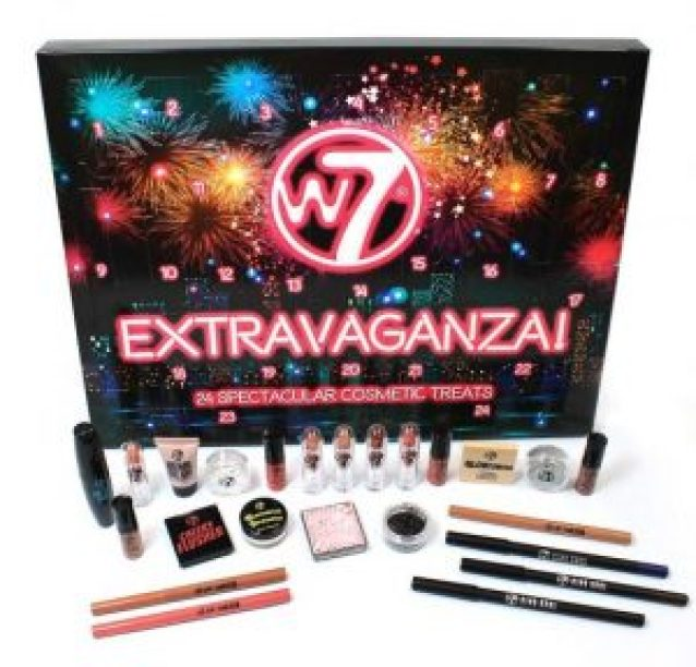 calendario de adviento w7 extravaganza 2018 advent calendar beauty calendario adviento 2018 spoilers w7 extravaganza
