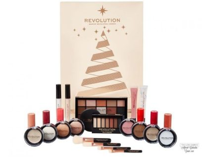 calendario de adviento makeup revolution revolution beauty 2018 advent calendar beauty calendario adviento 2018 spoilers makeup revolution revolution beauty