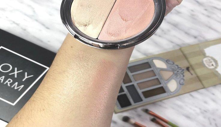 Boxycharm septiembre 2018 review girlactik luscious alamar cosmetics pretty vulgar grande cosmetics