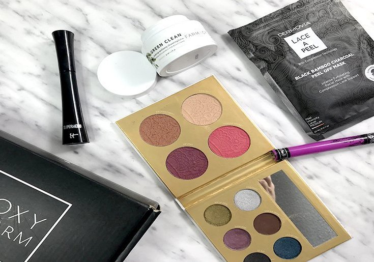 boxycharm octubre 2018 boxycharm españa dermovia kat von d farmacy green clean pur cosmetics itcosmetics 5