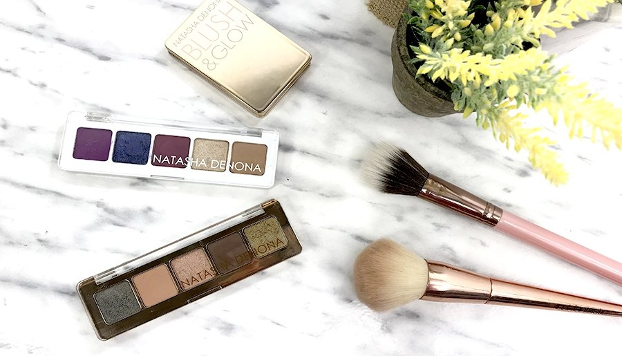 natasha denona review blush and glow mini lila palette mini star palette swatches natasha denona opinion 9