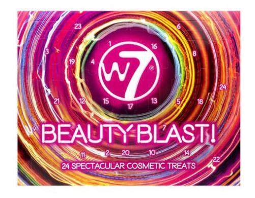 calendario de adviento de belleza 2019 calendario de adviento W7 2019 madridvenek calendario de adviento beauty