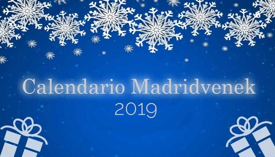 Calendario de Adviento Madridvenek 2019 sorteo belleza