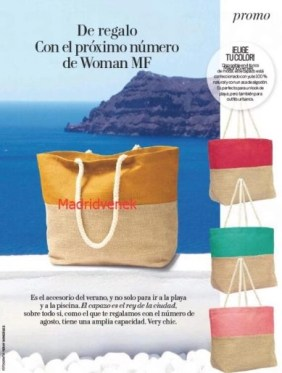 regalo revista woman agosto 2020 madridvenek