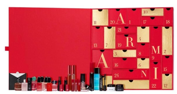calendario de adviento armani 2020 beauty advent calendar armani 2020 madridvenek