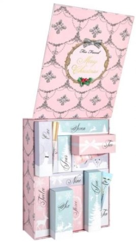 calendario de adviento too faced 2020 beauty advent calendar too faced madridvenek