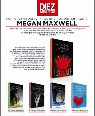 regalos revistas septiembre 2021 diez minutos megan maxwell