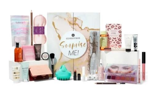calendario de adviento de belleza 2021 calendario de adviento Glossybox 2021 comprar calendario de adviento maquillaje 2021