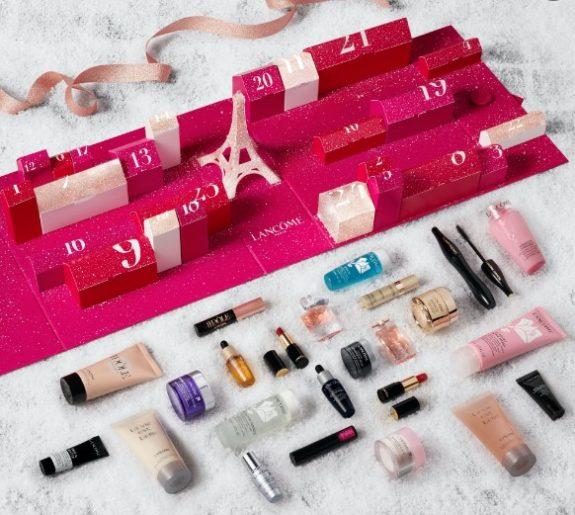 calendario de adviento de belleza 2021 calendario de adviento Lancome 2021 comprar calendario de adviento maquillaje 2021