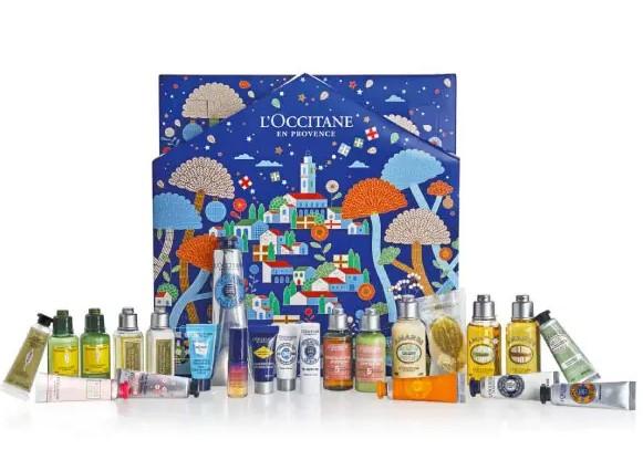 calendario de adviento de belleza 2021 calendario de adviento l'occitane 2021 comprar calendario de adviento maquillaje 2021